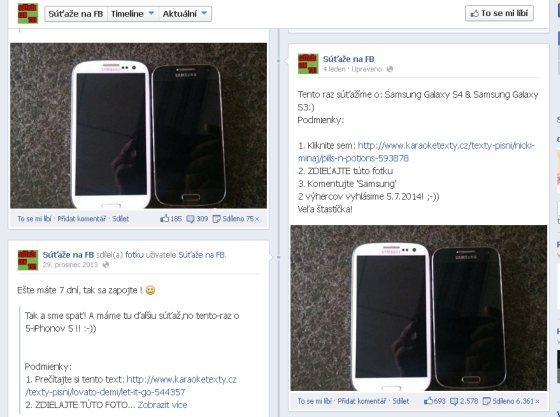 Podvodné súťaže na Facebooku
